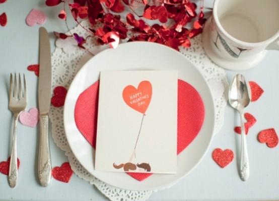 Idei de amenajare a mesei pentru cea mai romantica cina - Poza 15