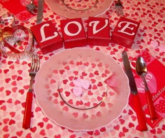 Idei de amenajare a mesei pentru cea mai romantica cina - Poza 16