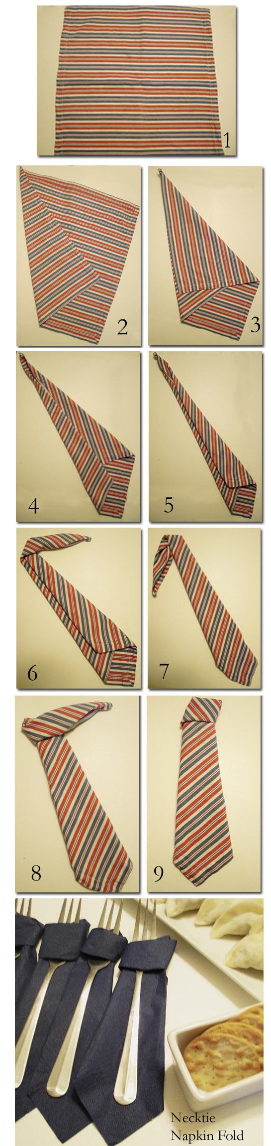 Pentru Revelion: Tehnici geniale de impaturire a servetelelor - Poza 17
