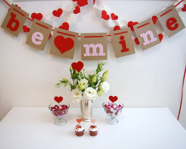 Decoratiuni minunate de Valentine's Day, facute manual - Poza 17