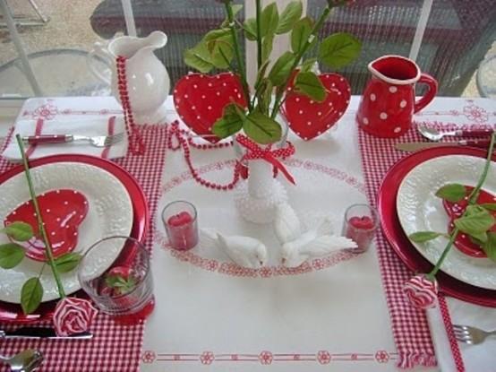 Idei de amenajare a mesei pentru cea mai romantica cina - Poza 18
