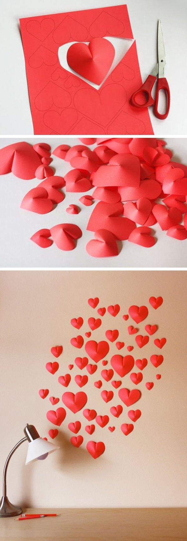 Decoratiuni minunate de Valentine's Day, facute manual - Poza 20