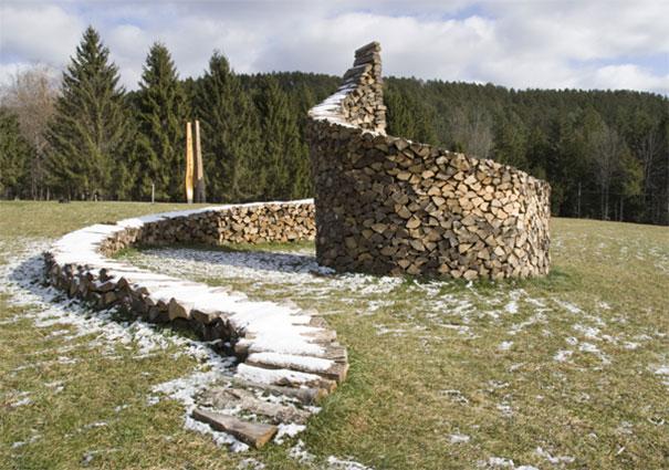 Creatii ingenioase cu lemne taiate - Poza 6