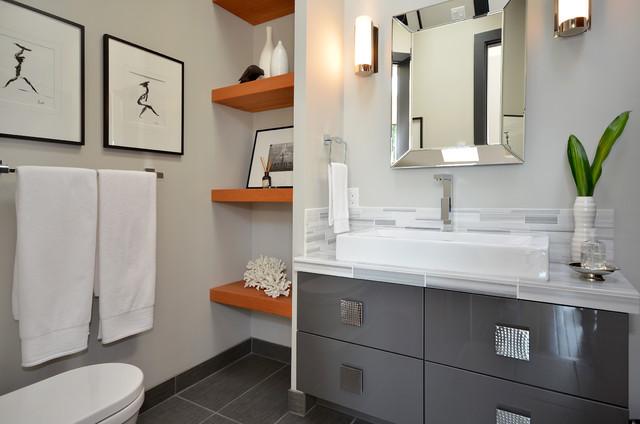 Idei de economisire a spatiului din baie - Poza 6