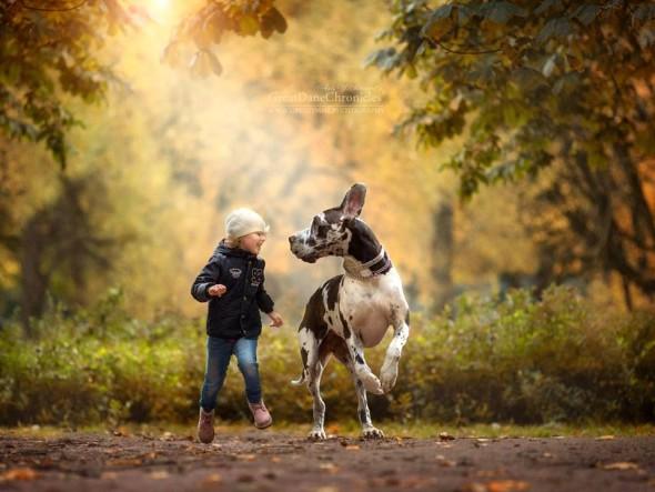 Copilasi si prieteni uriasi, in poze superbe - Poza 13