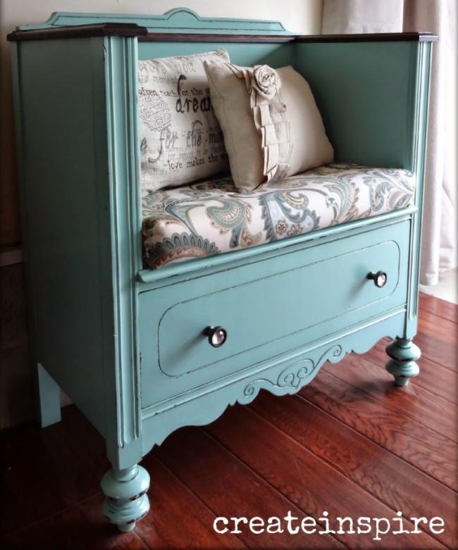 Idei geniale de reutilizare a mobilierului vechi - Poza 7