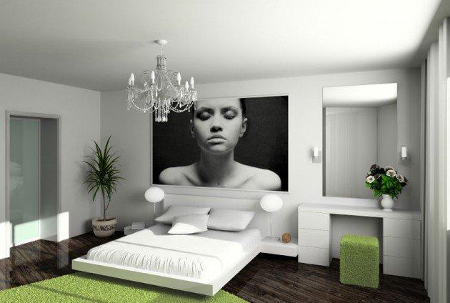 15+ Solutii geniale pentru redecorarea dormitorului - Poza 7
