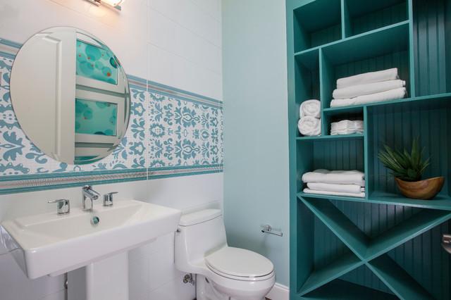 Idei de economisire a spatiului din baie - Poza 7