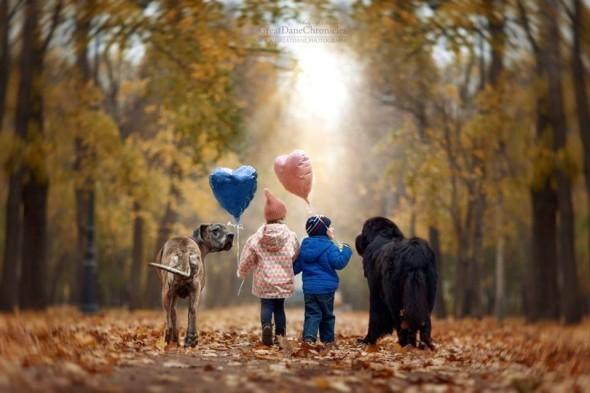 Copilasi si prieteni uriasi, in poze superbe - Poza 14