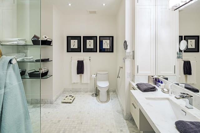 Idei de economisire a spatiului din baie - Poza 8