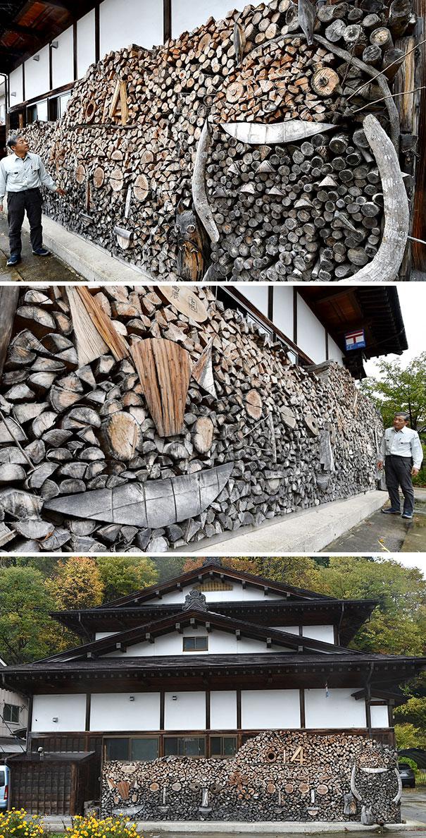 Creatii ingenioase cu lemne taiate - Poza 9
