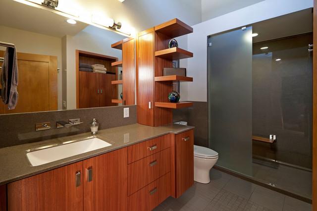 Idei de economisire a spatiului din baie - Poza 9