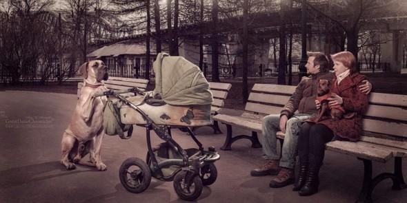 Copilasi si prieteni uriasi, in poze superbe - Poza 16