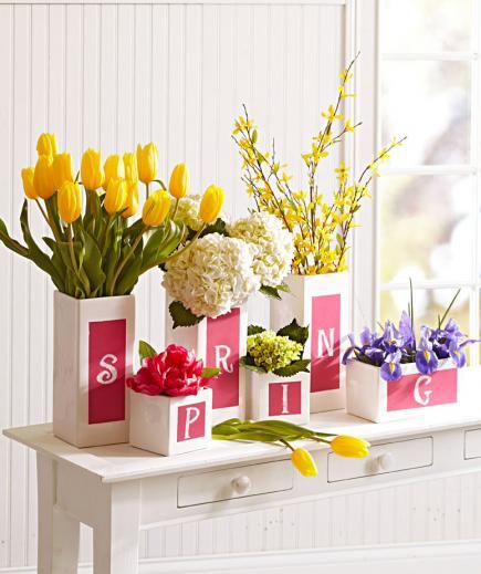 Aranjamente florare superbe pentru intampinarea primaverii - Poza 14