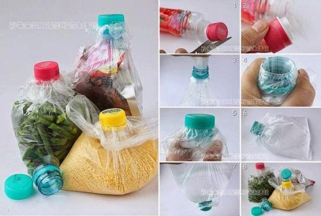 10+ Moduri geniale de a refolsi sticlele din plastic - Poza 1