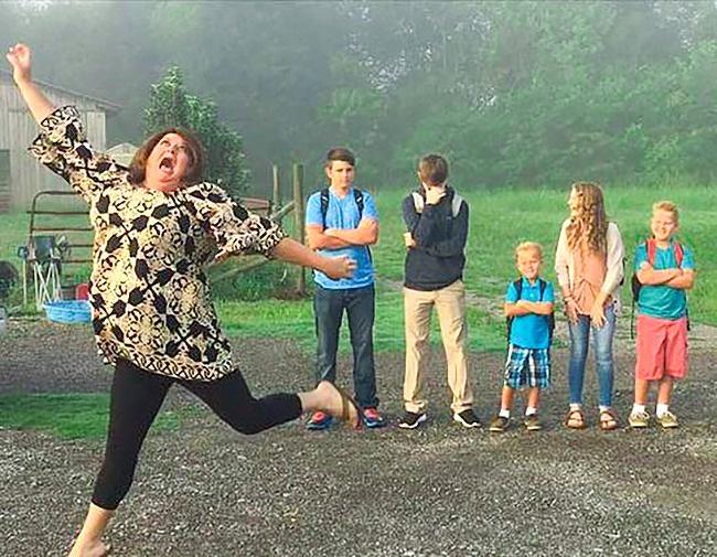 15 Poze amuzante cu cele mai poznase mame - Poza 3