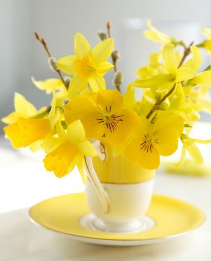 Aranjamente florare superbe pentru intampinarea primaverii - Poza 3