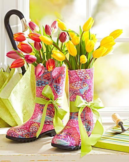 Aranjamente florare superbe pentru intampinarea primaverii - Poza 4
