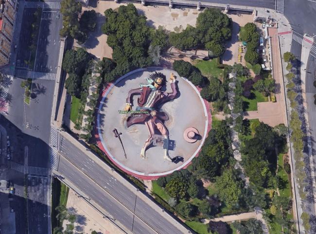 Cele mai bizare lucruri gasite pe Google Maps - Poza 5
