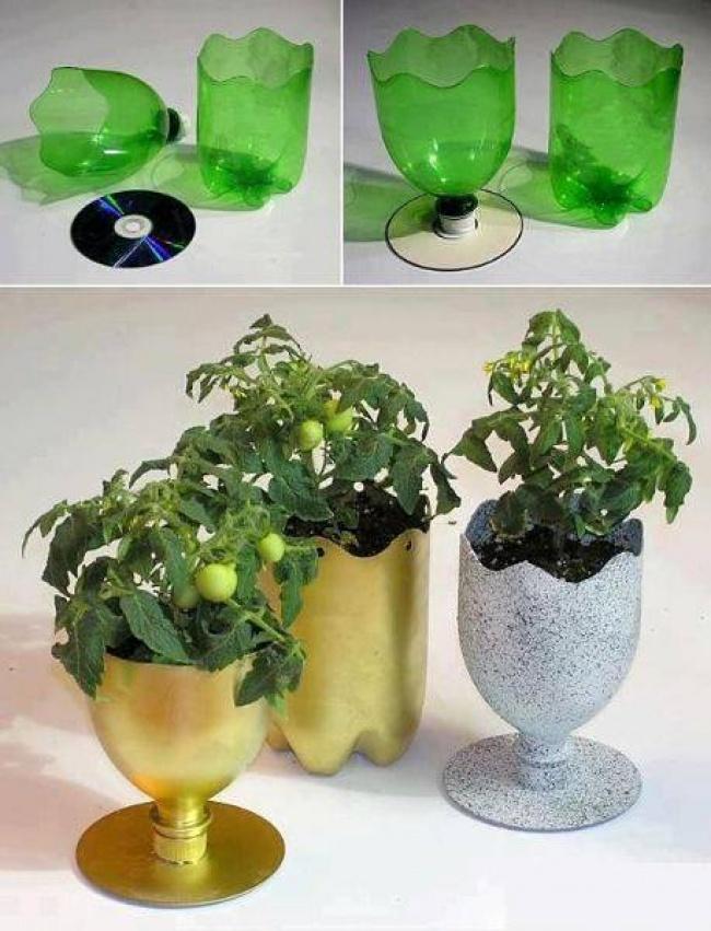 10+ Moduri geniale de a refolsi sticlele din plastic - Poza 7