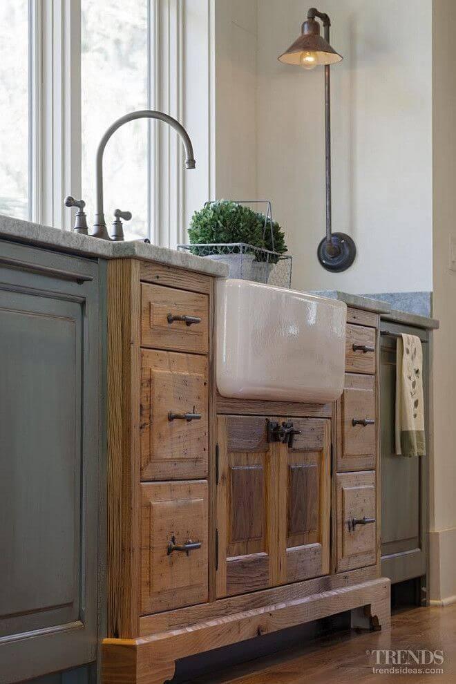 Idei de amenajare a bucatariei in stil rustic - Poza 12