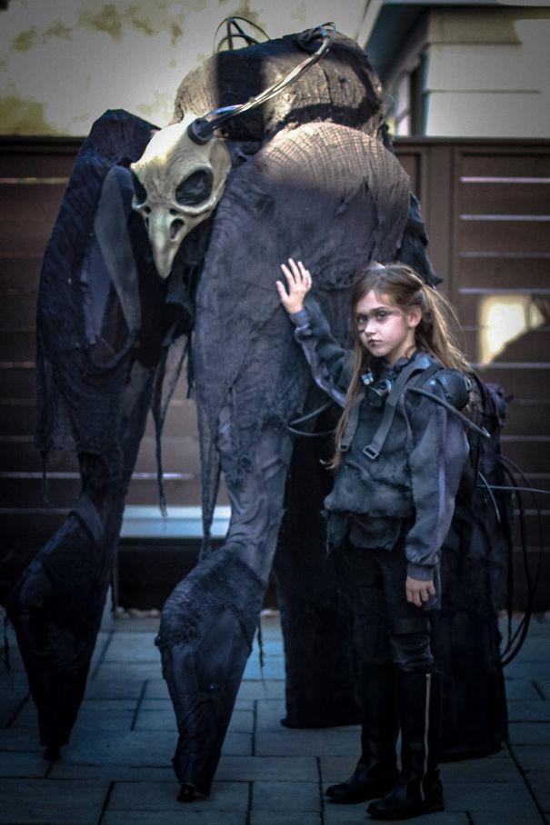 Cele mai tari si inspirate costume de Halloween - Poza 11